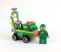 Biotron personal transport (timhenderson73) Tags: classic lego space neo 2016 biotron febrovery