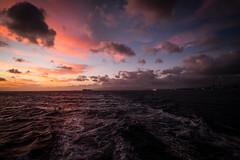 DSCF1916-1 (oncoinco0920) Tags: ocean blue red sea sky cloud photography hawaii town us photo ship fuji horizon fujifilm carlzeiss xt1