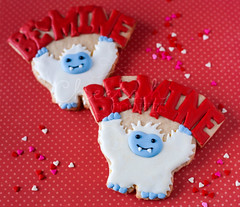 Will Yeti Be Mine (CheetahCookies) Tags: snowman day valentines yeti abominable
