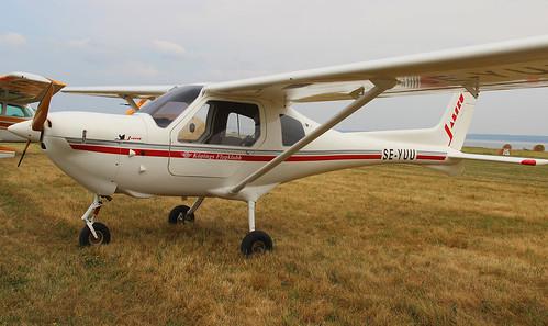SE-YUU Jabiru 450UL at Visingsö ESSI
