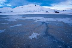 Venous (luca_pictures) Tags: gelo tramonto natura neve inverno freddo bellezza castelluccio vettore tranquillit parconazionaledeimontisibillini piangrande