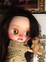Blythe-a-Day February #24 Fuzzy Friend: Nerissa's First Toy
