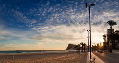 [ #62 :: 2016] (Salva Mira) Tags: sunset tourism beach atardecer mar dusk playa puestadesol turismo benidorm platja postadesol salva pasvalenci lacala turisme capvespre lamarina marinabaixa salvamira salvadormira