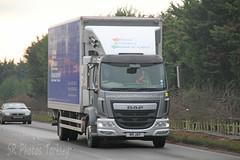 DAF LF John Atwell Transport N9 JAT (SR Photos Torksey) Tags: road truck john transport lorry commercial vehicle lf freight logistics atwell daf haulage hgv lgv