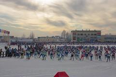 Старт Лыжни России в Сыктывкаре