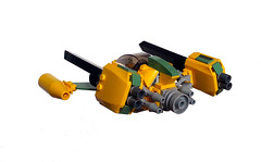 Dick Bastion, PI (Genghis Don) Tags: fighter space spaceship stg spacecraft moc fightercraft l3go