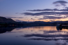 Ullswater 2015 - 6652.jpg (DavidRBadger) Tags: autumn sky lake mountains reflection nature clouds rural landscape evening countryside dusk lakedistrict calm lakeside hills cumbria vista lowsun ullswater pooleybridge