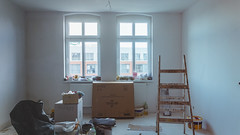 16.02.2016 (Fregoli Cotard) Tags: white home loft painting apartment attic newapartment renovation 366 dailyjournal lastfloor 47366 366days paintingjob 366project 366daily 47of366 366dailyproject