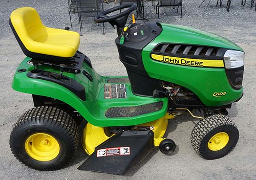 John Deere D105 Riding Mower - $1,072.50