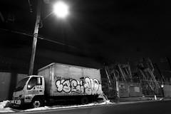 Lae and Such (mike ion) Tags: nyc newyorkcity ny newyork brooklyn truck graffiti nightshot such throw fill lae