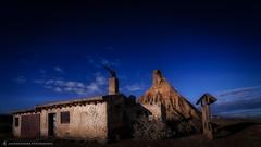Las Bardenas Reales (Juancdieguez   Photography - Madrid (ES) -) Tags: espaa naturaleza europa paisaje desierto es navarra cieloazul erosin entorno mlida lasbardenasreales elcastildeterra reservanaturalydelabiosfera