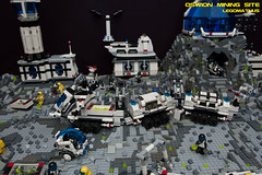 03_OSWION_Mining_Site (LegoMathijs) Tags: expedition layout wire mod energy power lego crystal space el vehicles astronauts modular planet scifi 20 functions mindstorms drill containers grapple spaceships miners moc nxt ores legomathijs oswion