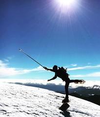 snow show (pepe50) Tags: show travel winter italy snow funny italia nuvole neve cai leisure inverno appennino abetone 2016 escursionismo ciaspole ciaspolata montagnemountain libroaperto pepe50