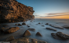 Rock of ages (Mick Fletoridis) Tags: longexposure seascape sunrise coast surf sydney canonlens leefilters sonyimages sonya7s