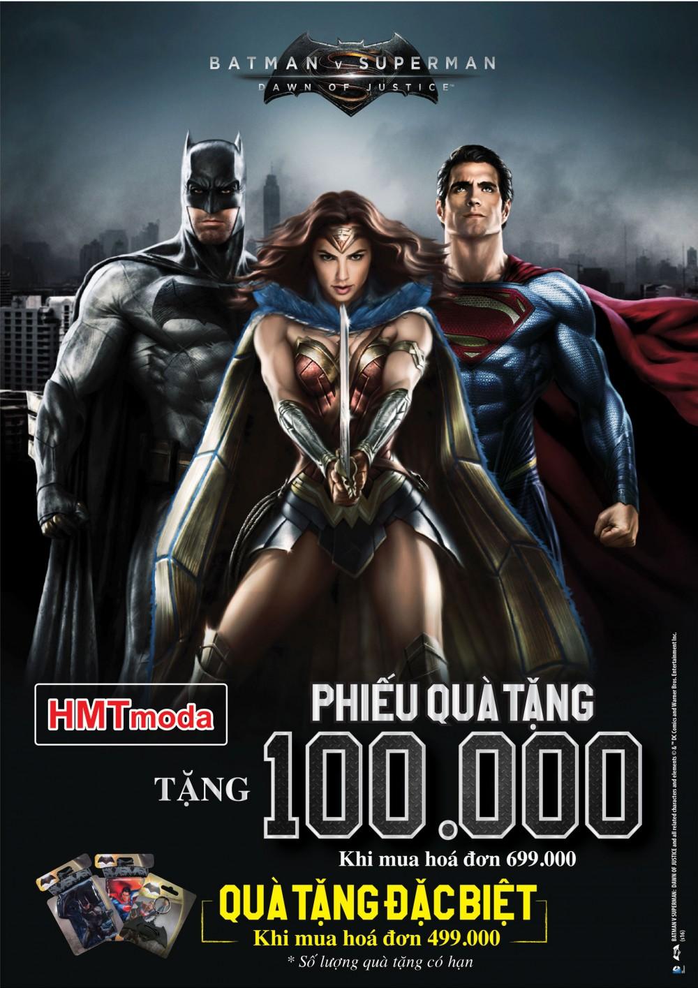 Ngày Hội Batman, Superman And Wonder Woman Giá Ưu Đãi Chỉ Có 159,000 đ, 169,000 đ...