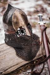 Rus-Viking helmet. (Kane_North) Tags: helmet viking armour