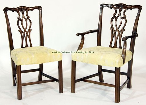 6 Hickory Company Chairs - $467.50 (Sold April 24, 2015)