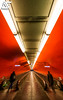 On your marks ! (A.G. Photographe) Tags: red paris france subway french rouge nikon métro ag nikkor français ratp anto xiii parisien 1424 antoxiii agphotographe