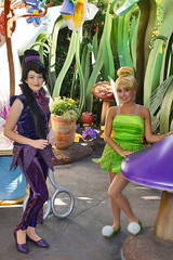 Vidia & Tinker Bell in Pixie Hollow at Disneyland (GMLSKIS) Tags: disney california disneyland pixiehollow tinkerbell vidia fairy amusementpark anaheim