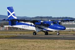 G-SGTS.GLA.050316 (MarkP51) Tags: plane airplane scotland airport nikon image glasgow aircraft aviation gla loganair twinotter dehavillandcanada d7100 egpf dhc6400 markp51 gsgts