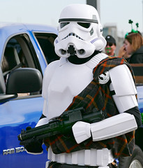 Trooping Along (Colorado Sands) Tags: fiction people usa trooper america festive soldier march us starwars costume colorado unitedstates alien helmet parades denver parade celebration event american weapon scifi stormtrooper stpatricksday stpats stpatricksdayparade stpatricksparade stpaddys 2016 fictionalcharacter imperialstormtrooper sandraleidholdt irishparades americanparades coloradofanforce irishstormtrooper