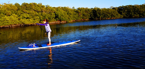 2_28_16 Paddleboard Yoga teach trainiing SRQ 05