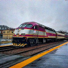 MBTA (Littlerailroader) Tags: railroad train massachusetts newengland trains locomotive mbta locomotives railroads ayer ayermassachusetts