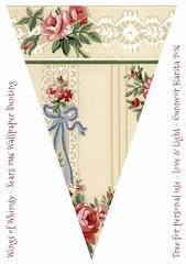 Sears1946Flag7_WingsofWhimsy (Wings of Whimsy) Tags: wallpaper vintage diy antique flag free garland ephemera bunting printable freebie mixmatch