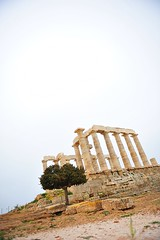 Greece is... (sifis) Tags: temple nikon greece cape poseidon sounion 2470 sakalak d700