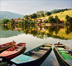 Remebering good old times..:) (Katarina 2353) Tags: summer film nature river landscape boats nikon europe serbia srbija morava ovcarskokablarskaklisura katarinastefanovic katarina2353 ovcarkablargorge