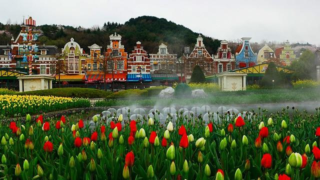 エバーランドテーマパーク&ドラゴンヒルスパ(テーマパークのオプショナルツアー)