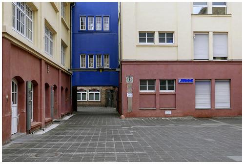 Hassia Fabrik, Innenhof