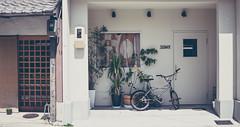Tony's Place in Kyoto (jsswiss) Tags: home japan lemon nikon bmx kyoto f14 entrance sigma 30mm portch fotosondag sigmaart nikond7200 sigma30mmf14dchsmart bokataver fs160417