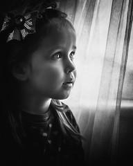 big eyes (explored 25/03/2016) (Sigita JP) Tags: blackandwhite child emotion indoors kidsportrait naturallightphotography littleexplore