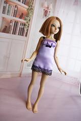satin night dress (Koffka Bu) Tags: michelle chloe lingerie bjd satin fairyland nightdress msd minifee