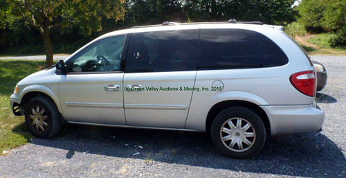 2006 Chrysler Touring minivan $8690.00 (Sold August 14, 2015)