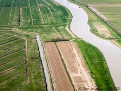 Paysage de Bourgneuf-en-Retz (Loire-Atlantique) (Dogeed) Tags: eau rivire paysage verdure lignes courbe courbes loireatlantique vuearienne