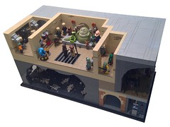 Star Wars: Episode VI - Return Of The Jedi: Jabba's Palace (Forgotten Days) Tags: 6 max star lego bib luke band palace pit rancor solo return r2d2 jedi jabba wars fortuna episode han oola c3po skywalker lando hutt droids the rebo bossk catina jabbas of calrission