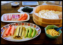 063 – Sushi dinner at home (barron) Tags: sushi