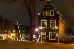 Café De Sluyswacht (Emiel Dekker) Tags: longexposure nightphotography netherlands amsterdam night evening sony nederland streetphotography avond a57 amsterdambynight