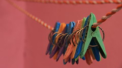 Clothespins (monicamedinamedia) Tags: colorful clothespins