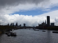 City of London (moley75) Tags: london skyline rainclouds cityoflondon waterloobridge centrallondon
