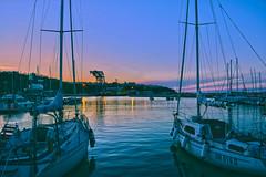 DSC_0134hdrplay (flaviodc) Tags: tramonto mare porto abruzzo ortona
