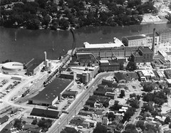 P-15-A-004 (NeenahHistory) Tags: downtown aerialphotograph