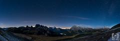 Dolomiten (MD-Pic) Tags: italien italy panorama alps night stars nikon nacht alpen dolomites dolomiti sterne dolomiten d7100