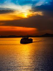 PhoTones Works #7820 (TAKUMA KIMURA) Tags: sunset nature silhouette landscape twilight scenery olympus     kimura    penf takuma     photones