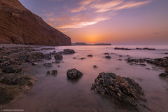 Sunset (Sreelesh Sreedhar) Tags: ocean longexposure sunset sea sky seascape beach nature water rock landscape coast seaside sand nikon waves outdoor ngc wave wideangle canyon shore slowshutter oman muscat nikond800 nikonflickraward nikon1635mm