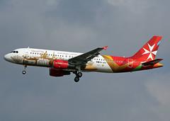 9H-AEO Airbus A320-214 Air Malta (Keith B Pics) Tags: airbus gatwick a320 valletta lgw capitalofculture airmalta egkk 9haeo