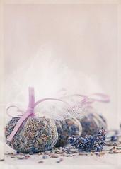 Homemade lavender bags (Ro Cafe) Tags: stilllife macro bag soft lavender pastels mm textured nikond600 macromondays nikkormicro105f28