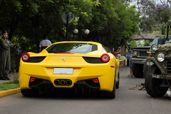 Giallo (benjamin.bastias) Tags: italy italia ferrari 458 ferrariitalia giallomodena 458italia ferrari458italia 458italiaferrari